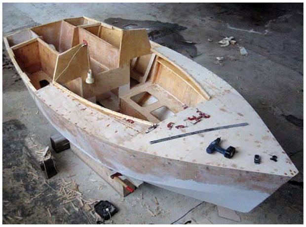 Строим яхты своими руками