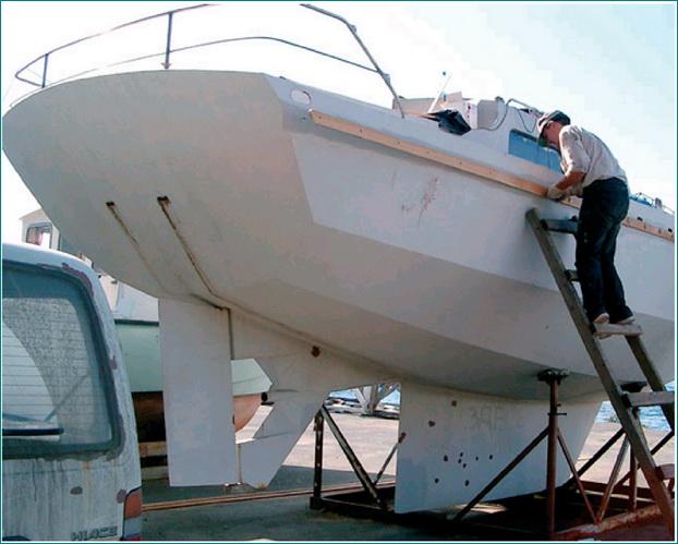Постройка яхты из металла своими руками