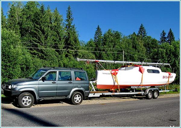 трейлер для лодки  00