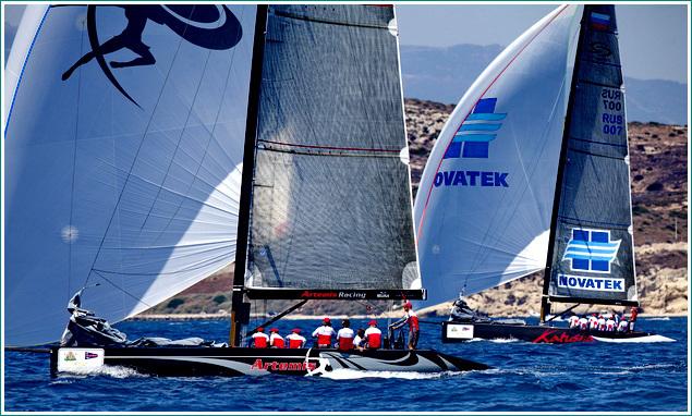 Cagliari RC44 Cup 2011
