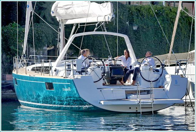 21/09/2011 - Portofino (ITA) - Chantier Beneteau - Oceanis 48***21/09/2011 - Portofino (ITA) - Chantier Beneteau - Oceanis 48