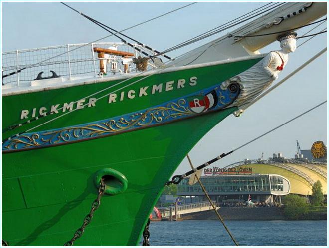 Segelschiff Rickmer Rickmers